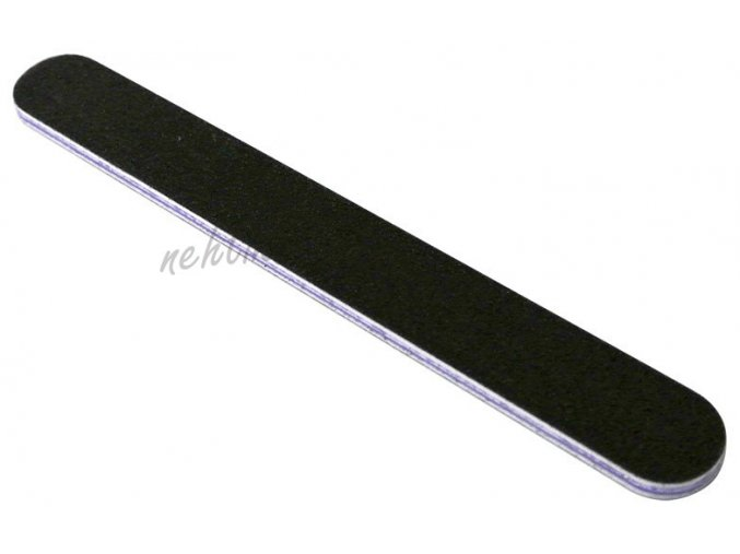 Pilník na nehty černý 180/180 voděodolný