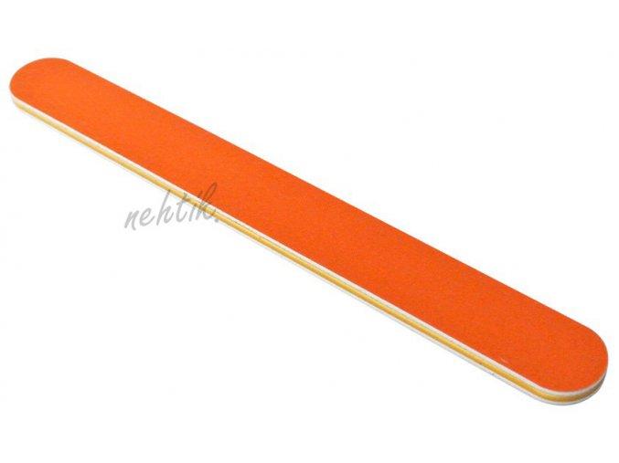 Pilník na nehty oranžový 240/240