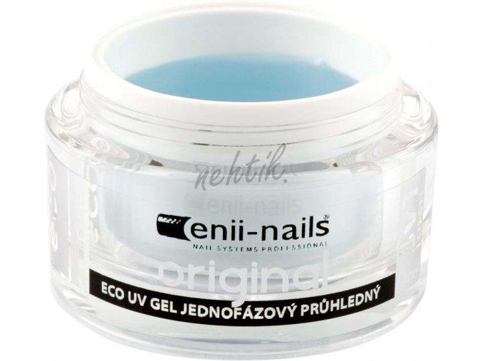 Jednofázový UV gel originál průhledný 10 ml