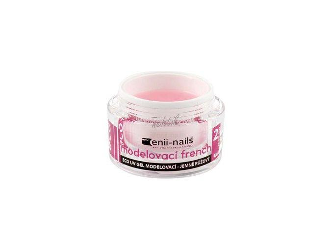 Modelovací UV gel french jemně růžový 10 ml