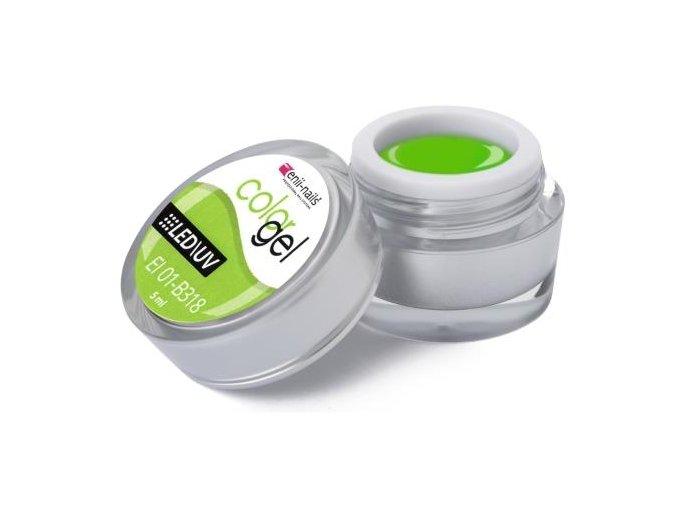 Enii-nails Barevný UV / LED gel 5ml č.318