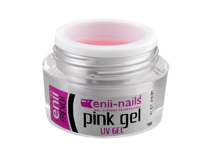 UV gel French růžový 5 ml Enii
