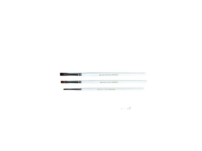 Štětec Kolínský plochý č. 4 na akrylové a gelové nehty