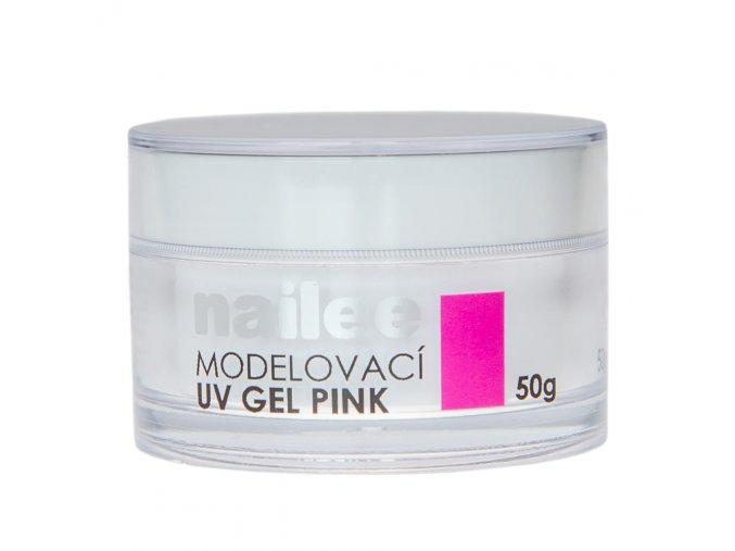 Nailee modelovací UV gel pink 50g