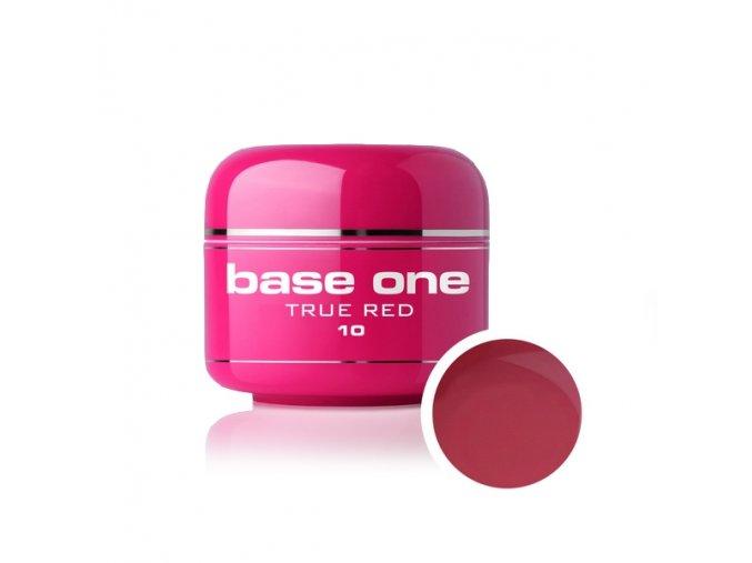 Nailee barevný UV gel 5 g č. 10 True Red