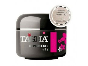 tasha barevny gel sparkle white brilliance 5 g black line