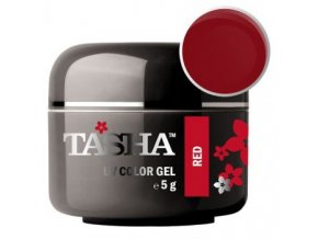 tasha barevny gel red 5 g black line
