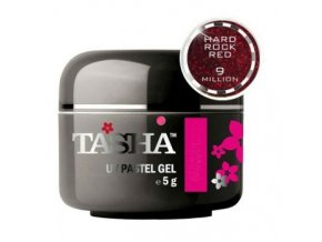 tasha barevny gel sparkle red brilliance 5 g black line