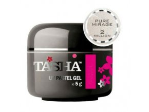 tasha barevny gel sparkle silver mist 5 g black line