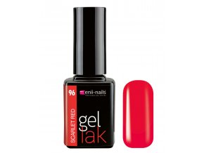enii nails gel lak 11 ml 96 scarlet red