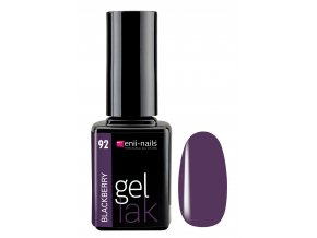 enii nails gel lak 11 ml 92 black berry