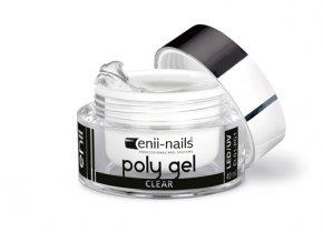 polygel clear 10 enii nails