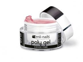 polygel cover pink 10 enii nails