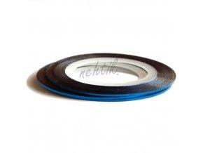 Zdobení - Nail Art pásek modrý hologram