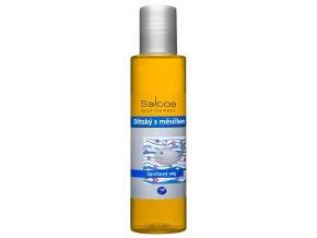 saloos detsky s mesickem sprchovy olej