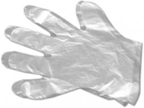 rukavice mikrotenove L