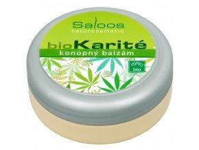Saloos Bio Karité Konopný balzám 50 ml výprodej
