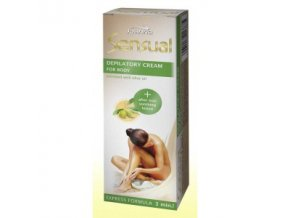 sensual depilacni krem na telo s olivou 100g
