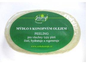 konopne mydlo peelingove 100g