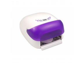 uv lampa na nehty s krytem fialova