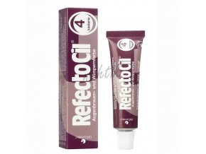 RefectoCil barva na řasy č.4 kaštanová