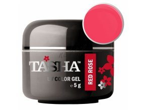 Uv gel barevný Tasha Red Rose 5g - Black Line