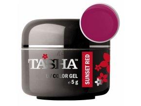Uv gel barevný Tasha Sunset Red 5g - Black Line