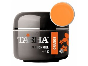 Uv gel barevný Tasha Neon Orange 5g - Black Line