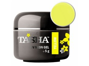 Uv gel barevný Tasha Neon Yellow 5g - Black Line