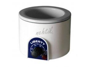 Biemme Ohřívač Liberty s elektrickým termostatem na vosk v plechovce 400 ml - bílý