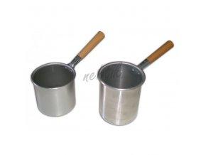 Nádoba na teplý vosk 400 ml s ručkou Biemme