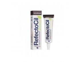 RefectoCil Sensitive Barva na řasy a obočí Light Brown 15 ml