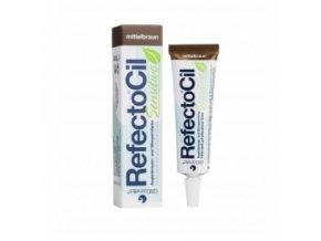 RefectoCil Sensitive Barva na řasy a obočí Medium Brown 15 ml