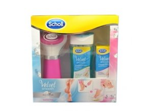 Scholl Velvet Smooth Diamond Set Pink