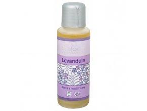 Saloos Bio tělový a masážní olej Levandule 50 ml