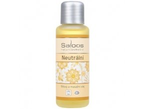Saloos Bio tělový a masážní olej Neutrální 50 ml