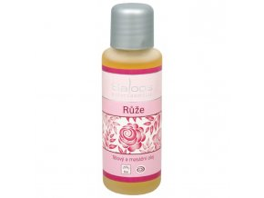 Saloos Bio tělový a masážní olej Růže 50 ml