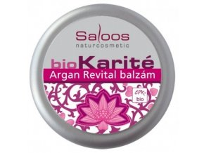 Saloos Bio Karité Argan Revital balzám 19 ml
