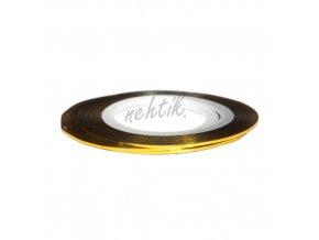 Zdobení - Nail Art pásek zlatý