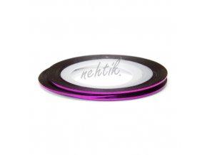 Zdobení - Nail Art pásek fialový