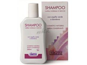 Šampon s lopuchovým kořenem na suché vlasy, Argital