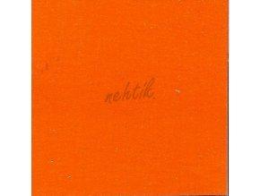 Zdobící akrylová barva na nehty - č. 64 oranžová metalická 30g