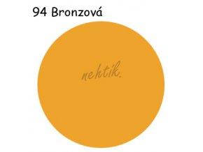 Zdobící akrylová barva na nehty - č. 94 bronzová 30g