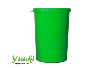 Sterilizační kelímek Yuuki, zelený