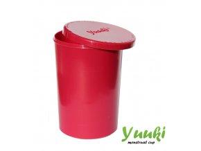 Sterilizační kelímek Yuuki, růžový