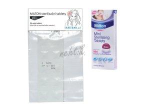 Milton - sterilizační tablety