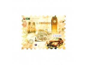 Vodolepky na zdobení nehtů BLE1863 Londýn