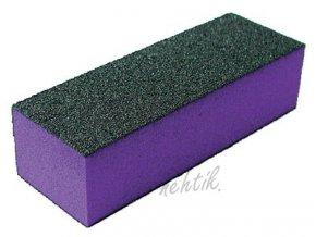 Leštící blok třístraný, fialový hrubý