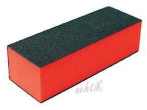 Leštící blok třístraný, červený jemnější