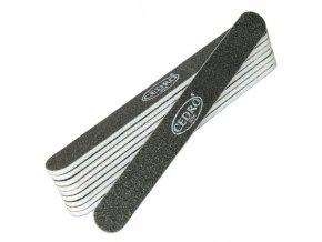 Sada - Pilník na nehty 100/180 černý rovný Cedro - 10ks